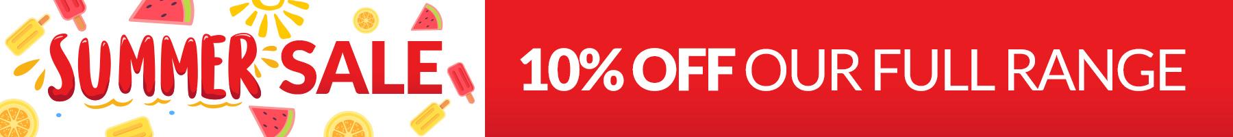 Summer 10%off sale